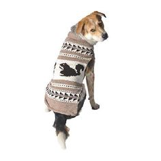 Chilly Dog Cowichan Squirrels Dog Sweater X-Large