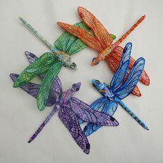 dragonflies | Art by Joy A. Kirkwood