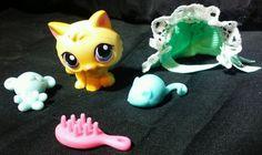 Littlest Pet Shop KITTY CAT lps 248 Target Exclusive tin original accessories  #Hasbro