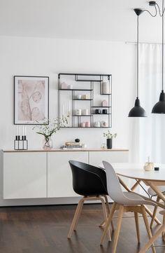 Neue Fronten & eine neue Platte für mein Ikea Bestå Sideboard - Home Desinger Home Interior Design, Decor, House Interior, Ikea, Sideboard Designs, Home, Interior, Living Room Makeover, Home Decor