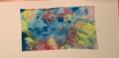 Abstract water color III