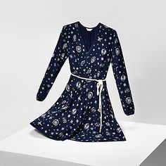 Tommy Hilfiger women's dress. This silk dress is a part of an exclusive capsule…