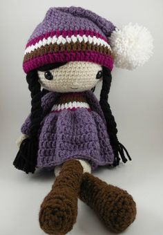 Irene  Amigurumi Doll Crochet Pattern PDF by CarmenRent on Etsy