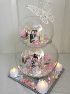 Are you a bride to be and searching for wedding items? Check out www.MyWeddingCo bridal makeup , Are you a bride to be and searching for wedding items? Check out www.MyWeddingCo Are you a bride to be and searching for wedding items? Check out www. Wedding Table Centerpieces, Diy Wedding Decorations, Floral Centerpieces, Fishbowl Centerpiece, Table Decorations, Shower Centerpieces, Bling Centerpiece, Centerpiece Ideas, Wedding Crafts