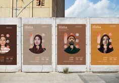 Nafissa Benouiz - Hima - World Brand Design Society / Hima Conference is a thr. Conference Branding, Conference Poster, Corporate Event Design, Event Branding, Corporate Branding, Persona Feliz, Design Campaign, Plakat Design, Event Poster Design