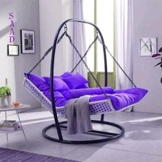 Extraordinary Backyard Hammock Design Ideas is part of Indoor chairs - The hammock brings about a sense of relaxation Lying on a hammock, can take a person away from the frustrations […] Iron Furniture, Home Furniture, Furniture Design, Furniture Online, Cheap Furniture, Living Room Decor, Bedroom Decor, Living Room Hammock, Bedroom Hammock