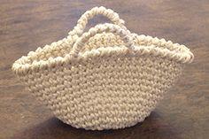 Crochet Tote: free,... really, really long photo tutorial.