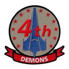 Battlestar Galactica Patch - 4th Demons Squadron | ANOVOS Productions LLC