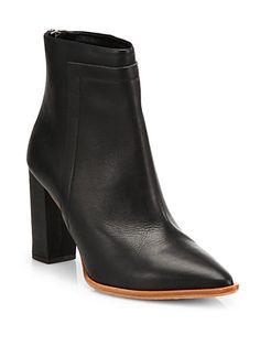 Loeffler Randall - Mercer Leather Ankle Boots - Saks.com