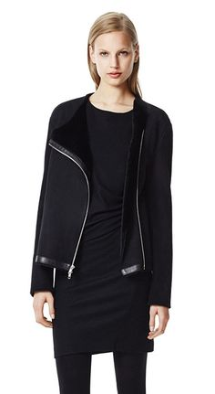 Gabrelle Coat in Mitchell Leather