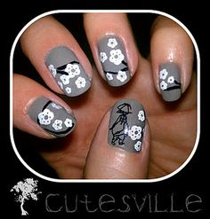 Something to try with my Konad nail art stamping plate M66.  It should be here next week!!!