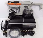 Sony PlayStation 3 40 GB Piano Black Console Original PS3 Phat for parts bundle!