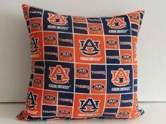 Sports Pillow- Auburn Tigers