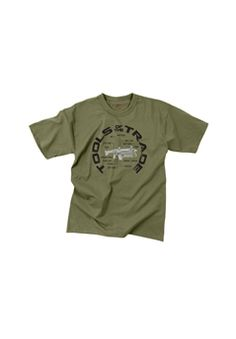 Ultra Force Vintage Tools Of The Trade Olive Drab T-Shirt | Buy Now at camouflage.ca