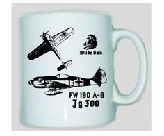 Tasse FW 190 / mehr Infos auf: www.Guntia-Militaria-Shop.de