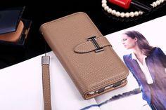 Buy Designer hermes iphone 6/6S Leather Case Cover Khaki
