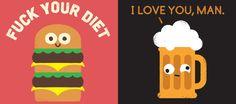 Un artiste imagine ce que vous dirait votre nourriture si elle pouvait parler
