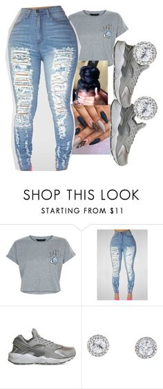 """Untitled #194"" by itschrisoffdis ❤ liked on Polyvore featuring New Look and NIKE"
