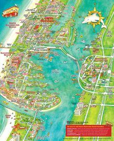Florida Beach Map.Florida Beaches Map Excerise Florida Florida Beaches Map Of