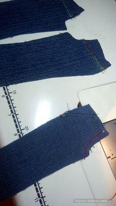 Доброго времени суток, дорогие Бэйбики! Меня несколько раз спрашивали — как же шить джинсы? Для многих это не секрет, а