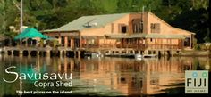 Savusavu Copra Shed, historic, beautiful and a must for visitors. Visit our blog: www.fijimyhome.com