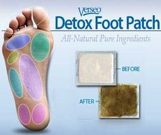 The Verseo Detox Foot Patch is one of the most well-known detox patches on the market today. Description from allaboutparasites.com. I searched for this on bing.com/images