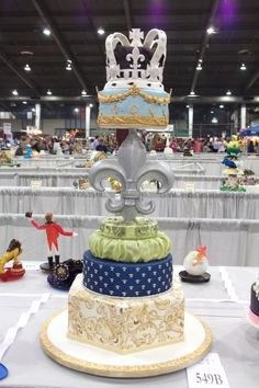 royal cake by whitestar08 on Cake Central