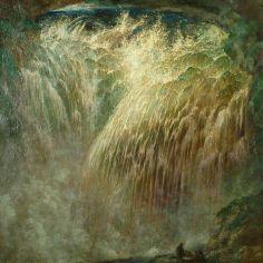 Sidney H Sime, 1867-1941, Waterfall