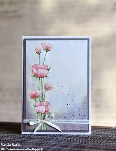 OCC Stretch your stamps 2 - Floral stamps.
