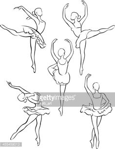 455459013-line-drawing-of-ballerinas-1-gettyimages.jpg (364×472)
