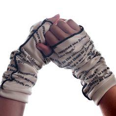 Les Miserable Writing Gloves - Fingerless Gloves | Storiarts