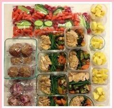 The Key 4 Health - 3 Compartment Food Containers - Reusable Containers with Lids - Stackable & Made with BPA-free Plastic - Perfect for Meal Prep/Diet - 10 Bento Box/Lunch Containers Pack) Healthy Meal Prep, Healthy Snacks, Healthy Eating, Healthy Recipes, Diabetic Recipes, Meal Prep Plans, Meal Prep For The Week, Make Ahead Meals, Food Preparation