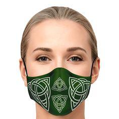 Celtic Knot Face Mask S-2