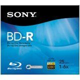 Sony BNR25R3H 6x BD-R Media - 25GB - 120mm - 1 Pack Jewel Case by Sony. $3.85. Sony BNR25R3H 6x BD-R Media - 25GB - 120mm - 1 Pack Jewel Case Blu-Ray recordable disc provides up to five times the capacity of a standard DVD-R. With 25GB capacity, each disc offers space for HD video recording, massive hard disk backups and large multimedia files. Each disc can hold 23 hours of standard definition television and tens of thousands of music recordings. Disc also feat...