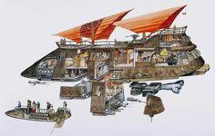 jabba's sail barge - Google Search