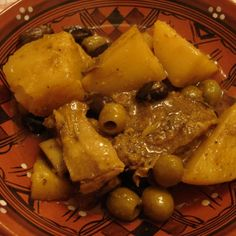 Algerian Beef, Potato & Olive Tagine Recipe