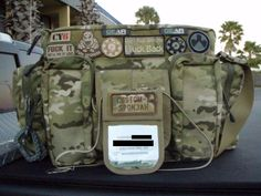 tactical diaper bag for the husband