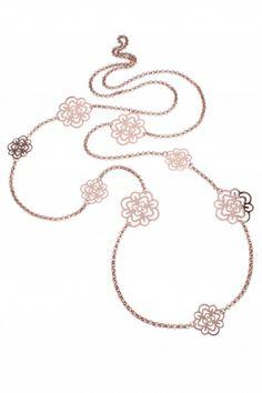 levity I rose gold plated #necklace I designed for NEW ONE I NEWONE-SHOP.COM