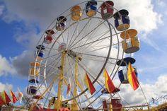 The Ferris Wheel! Topsfield Fair, All Things New, County Fair, Massachusetts, Childhood Memories, New England, Ferris Wheel, Retro Vintage, Fair Grounds
