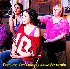 I'm so glad Pitch Perfect came out! Now I get to see all of the funny quotes on Pinterest!