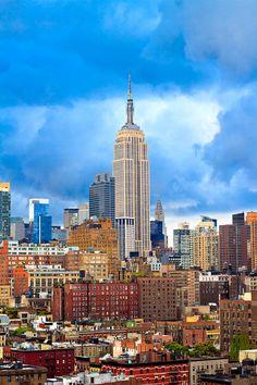 New York City Skyline (by ntrifunovic)