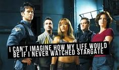 Would have missed out on so many moments with my friends without #stargate