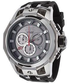 Men's 16811 S1 Rally Analog Display Swiss Quartz Black Watch