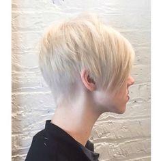 Bleach out by - Pixie by Pixie Mohawk, Bombshells, Short Hair Styles, Blondes, Hair Ideas, Beauty, Bleach, Beautiful, Instagram