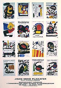 Joan Miro Plakater