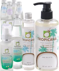 Tropicana Coconut oil products