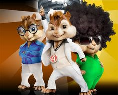 After entertaining audiences with their hilarious antics in their previous two hits, singing chipmunks Alvin, Simon and Theodore are back this December to make you roll with laughter. Description from article.wn.com. I searched for this on bing.com/images