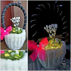 Ötletes Blog: Különleges húsvéti kosár fillérekből Table Decorations, Halloween, Blog, Home Decor, Homemade Home Decor, Decoration Home, Room Decor, Interior Design, Halloween Labels