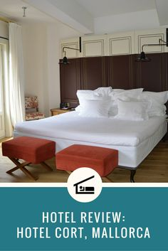 Hotel review of Hotel Cort in Palma de Mallorca, Spain. Click this image to read the review, or re-pin it to your travel planning board!