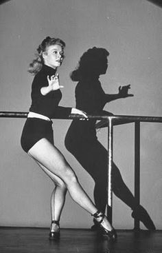 Vera-Ellen from White Christmas she was a truly awesome dancer!